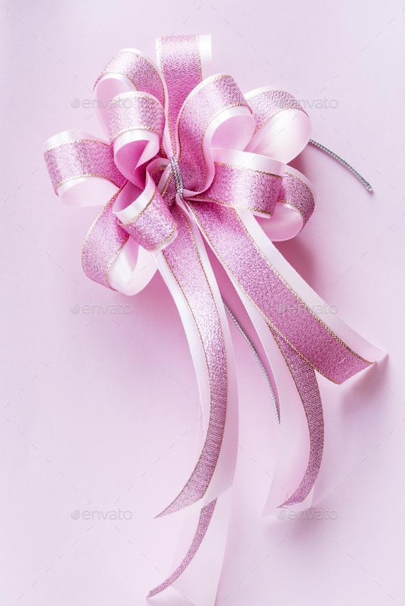 Closeup of decorative ribbon - Stock Photo - Images