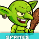 Goblin 2D Game Character Sprites 21 - GraphicRiver Item for Sale