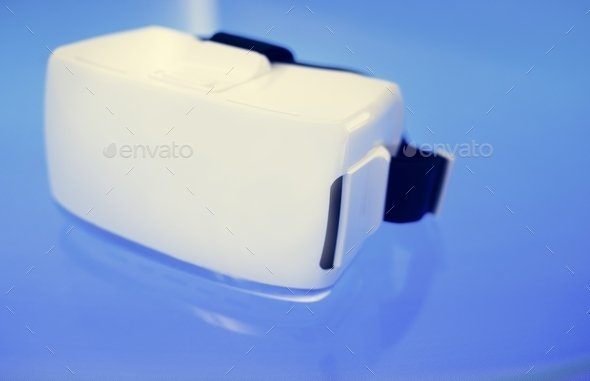 Virtual reality simulator - Stock Photo - Images
