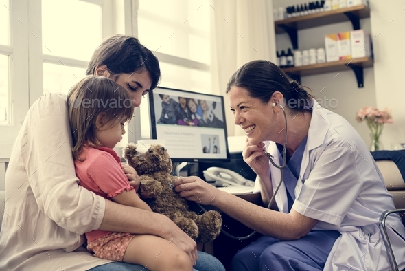 Young patient is getting a diagnose from doctor - Stock Photo - Images