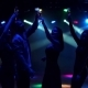 Silhouette of Friends Dancing in the Dark - VideoHive Item for Sale