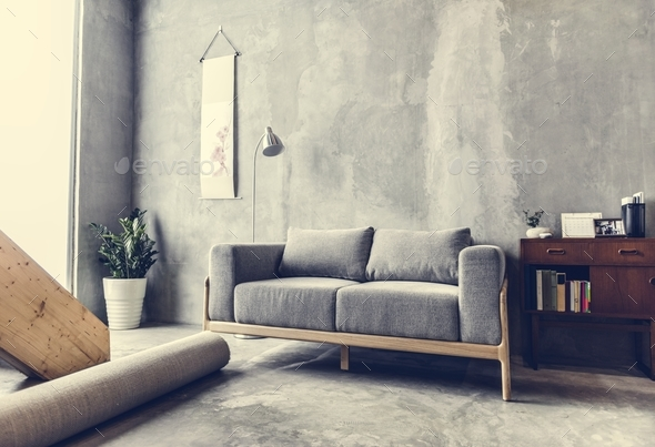 Home design with modern contemporary style - Stock Photo - Images