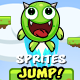 Jump Monster Character Sprites 10