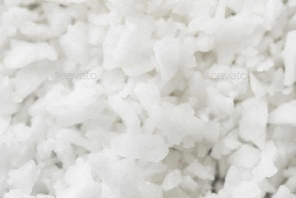 Closeup of salt texture - Stock Photo - Images
