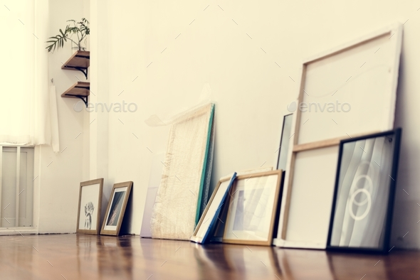 Art exhibition - Stock Photo - Images