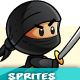 Ninja Character Sprites 03 - GraphicRiver Item for Sale