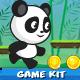Panda Run  Platformer Game Kit - GraphicRiver Item for Sale