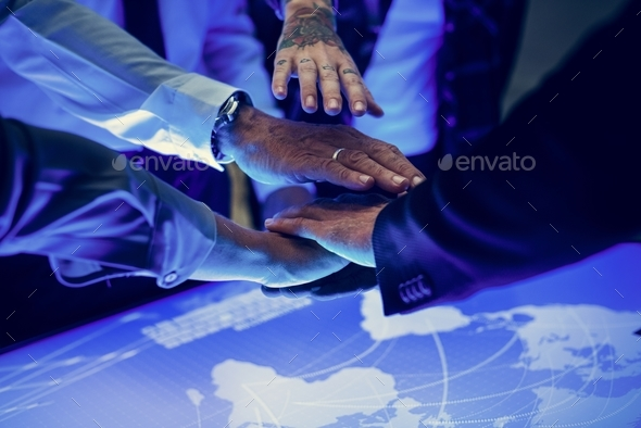 Global business teamwork - Stock Photo - Images
