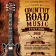 Country Road Music Festival - GraphicRiver Item for Sale