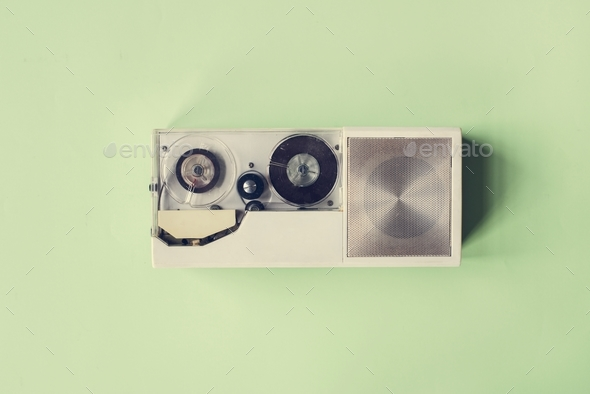 Voice record media device gadget - Stock Photo - Images