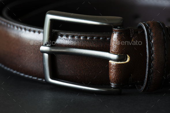 Closeup of belt - Stock Photo - Images