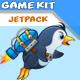 Jetpack Penguin Game Assets - GraphicRiver Item for Sale