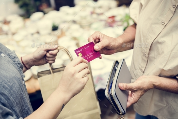 Credit card payment - Stock Photo - Images