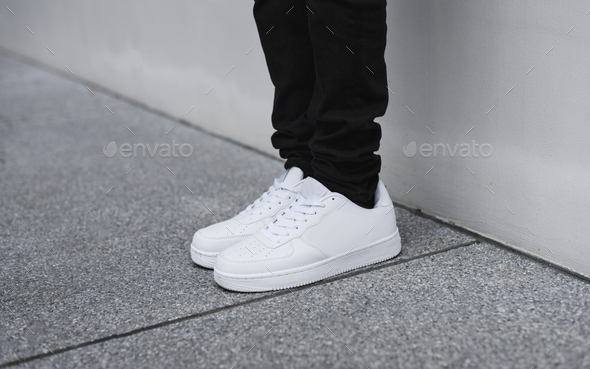 Denim and sneakers - Stock Photo - Images