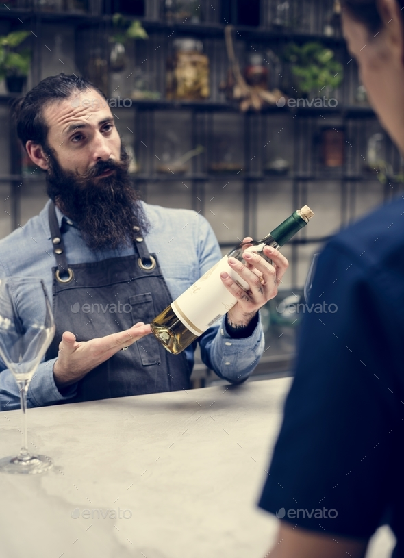 Sommelier - Stock Photo - Images