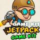 Jetpack Boy Game Assets - GraphicRiver Item for Sale