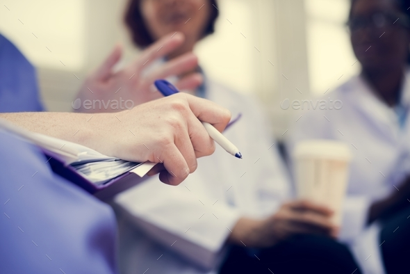 Doctors brainstorming - Stock Photo - Images
