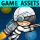 Game Assets - Space Warrior - GraphicRiver Item for Sale