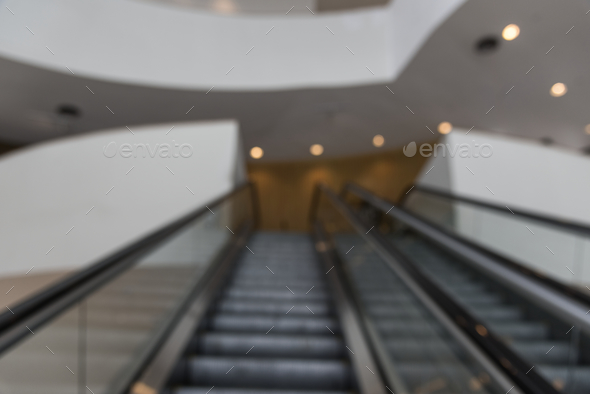Escalator stairs in - Stock Photo - Images