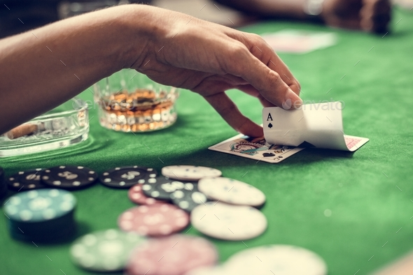 Diverse adults gambling shoot - Stock Photo - Images