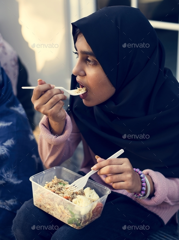 Young Muslim student - Stock Photo - Images
