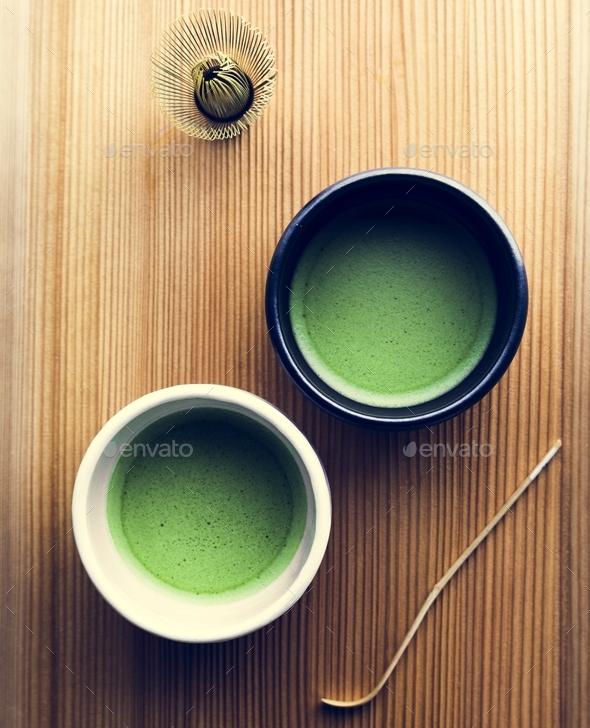 Japanese oriental matcha - Stock Photo - Images