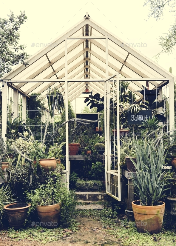 Greenhouse - Stock Photo - Images