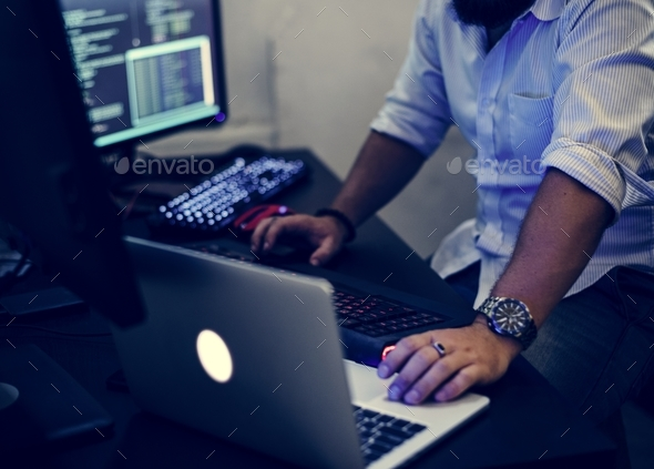 Programmer wo - Stock Photo - Images