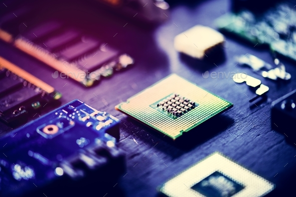 Computer processors - Stock Photo - Images