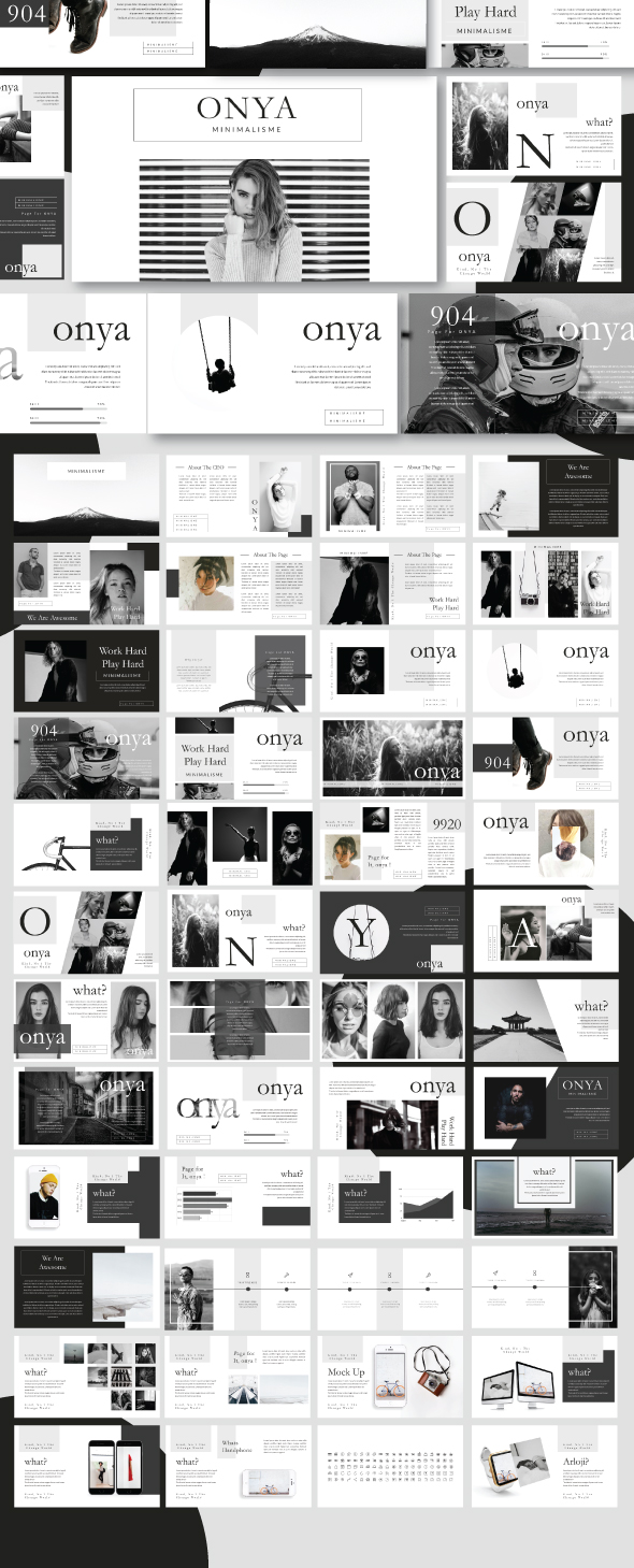 Onya Creative Keynote Template - Creative Keynote Templates