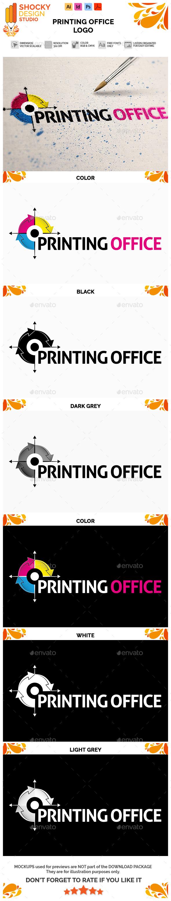 Printing Office Logo - Symbols Logo Templates