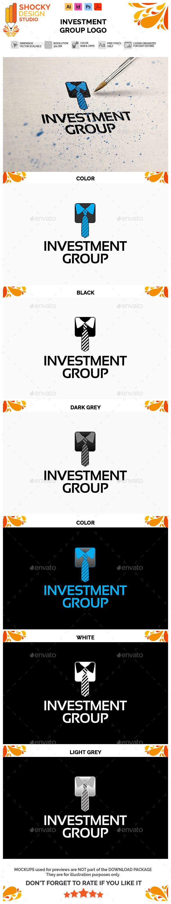 Investment Group Logo - Symbols Logo Templates