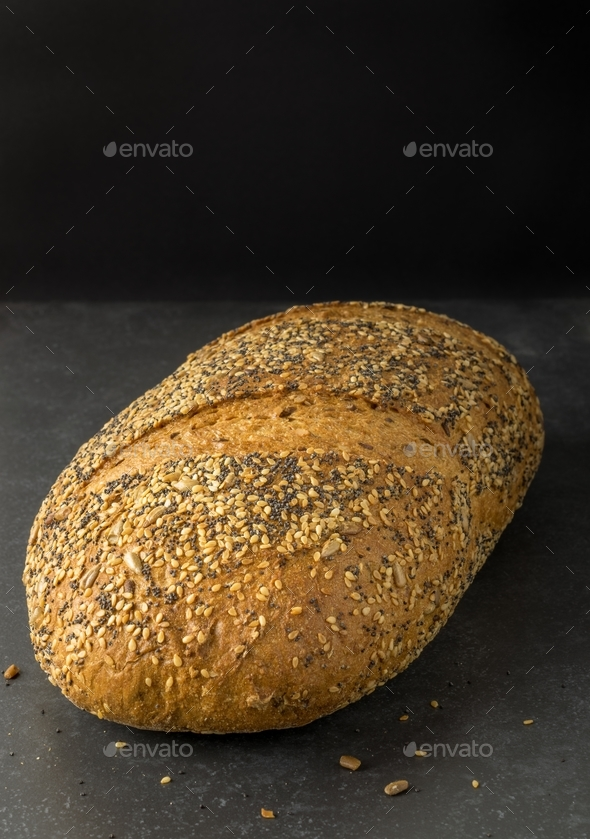 A Loaf of Wholemeal Bread - Stock Photo - Images