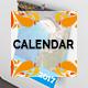 2017 Wall Calendar - GraphicRiver Item for Sale