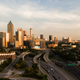 Downtown City Skyline Atlanta Georgia Metro Area Capital Town - PhotoDune Item for Sale