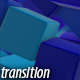 Blue Cubes Transitions - VideoHive Item for Sale