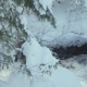 Thermal Springs on the Background of Winter - VideoHive Item for Sale
