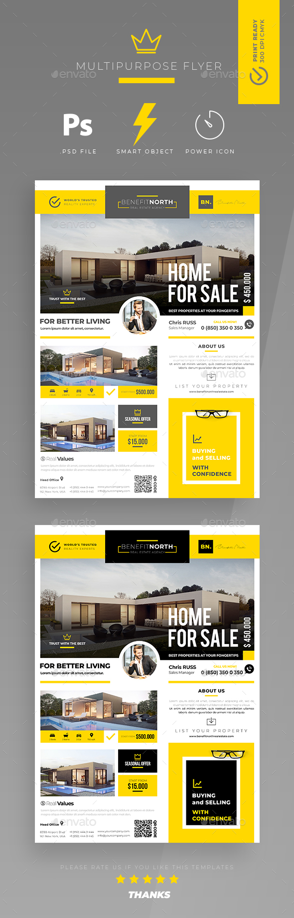 Real Estate Flyer - Print Templates