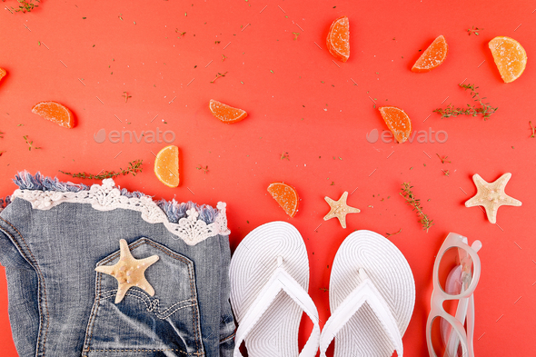 Summer woman outfit - Stock Photo - Images