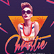 Electro 80's Dj Party Flyer - GraphicRiver Item for Sale