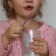 The Child Drinks a Milk Drink - Kefir, Smoothies, Cocktail, Yogurt - VideoHive Item for Sale
