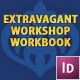 Extravagant Workshop InDesign Workbook - GraphicRiver Item for Sale