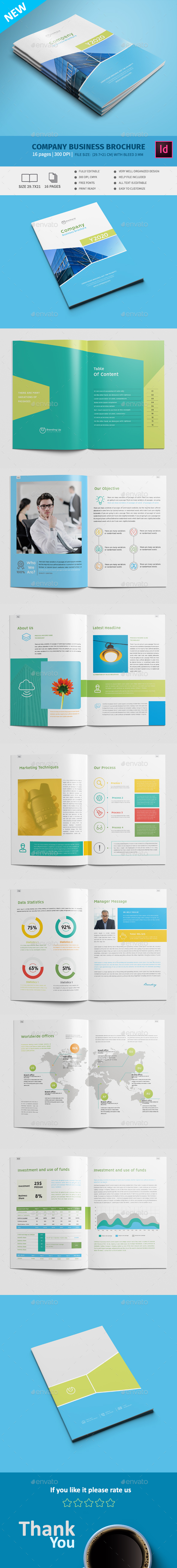 Company Business Brochure - Corporate Brochures