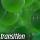 Green Bubbles Transitions - VideoHive Item for Sale