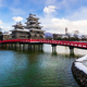 Matsumoto castle in W‌inter season, Nagano, Japan - PhotoDune Item for Sale