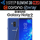 Samsung Galaxy Note 9 Blue Concept