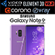 Samsung Galaxy Note 9 Purple Concept