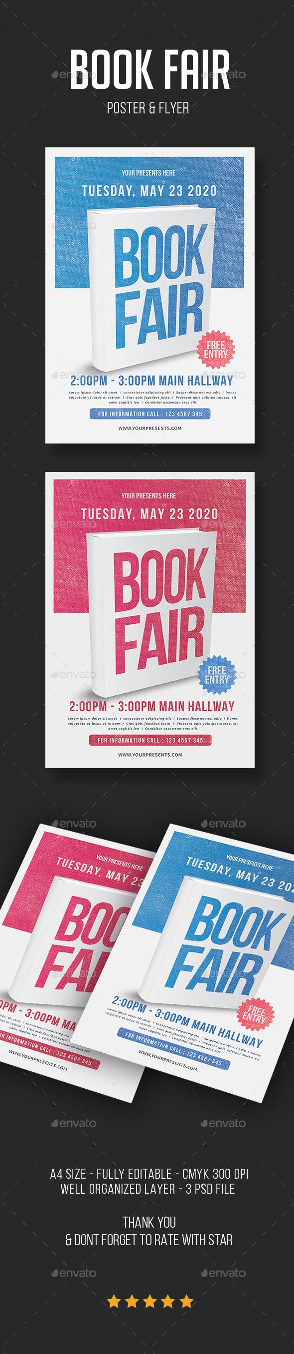 Book Fair Flyer - Flyers Print Templates