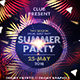 Summer Night Dance Party - GraphicRiver Item for Sale