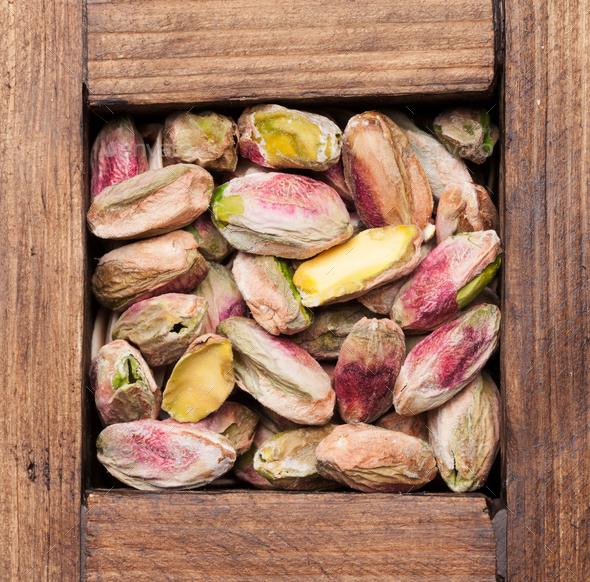 Pistachios nuts - Stock Photo - Images